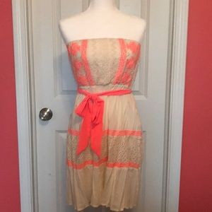 Flying Tomato Strapless Dress from Buckle
